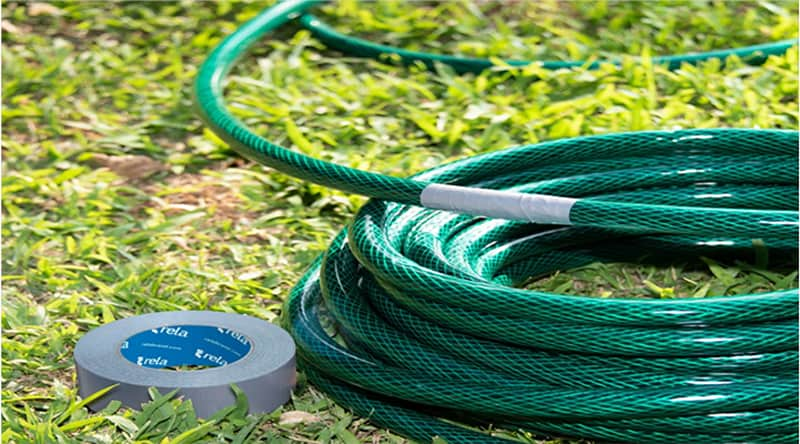 How To Repair A Garden Hose With Duct Tape
