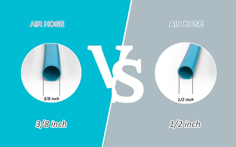3/8 vs 1/2 air hose