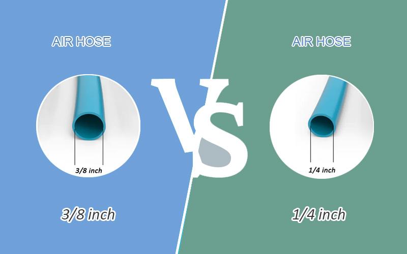 3/8 vs. 1/4 Air Hose