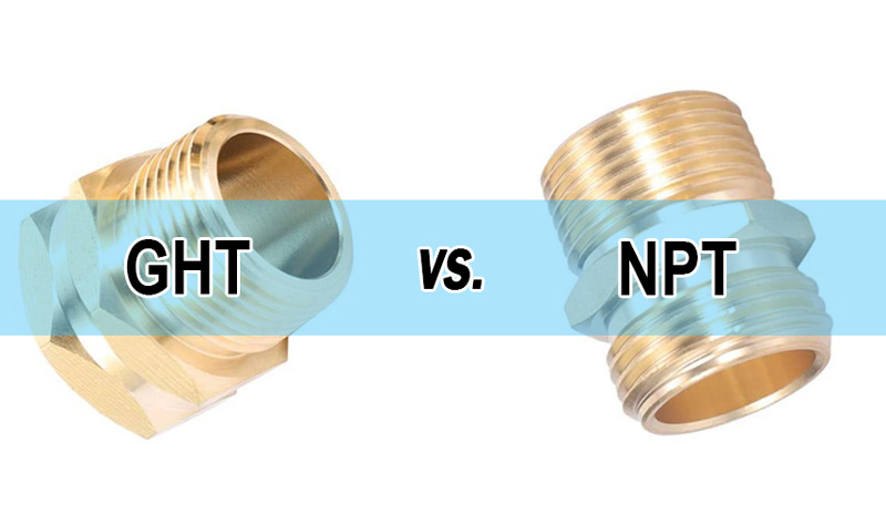 Garden Hose Thread (GHT) vs. NPT: What's The Difference?