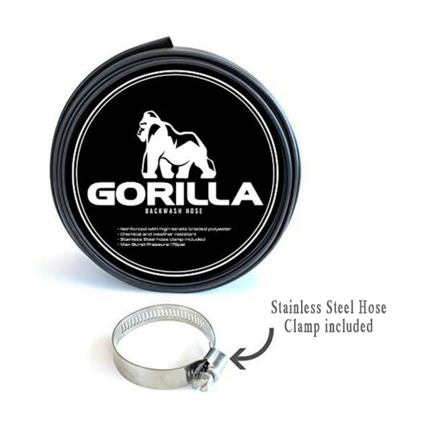 Gorilla Hose Features & Benefits: Stainless Steel Clamp