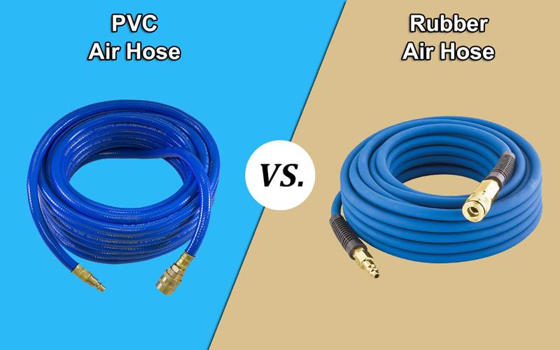 PVC vs. Rubber Air Hose