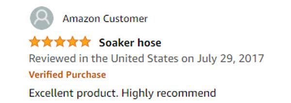 Mr. Soaker Hose Reviews