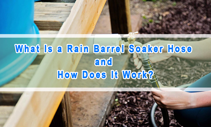 Rain Barrel Soaker Hose: What Is and How Does It Work?