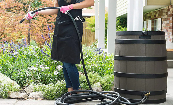 What is the Best Length for a Rain Barrel Soaker Hose?