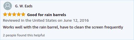 Rain Barrel Soaker Hose Reviews